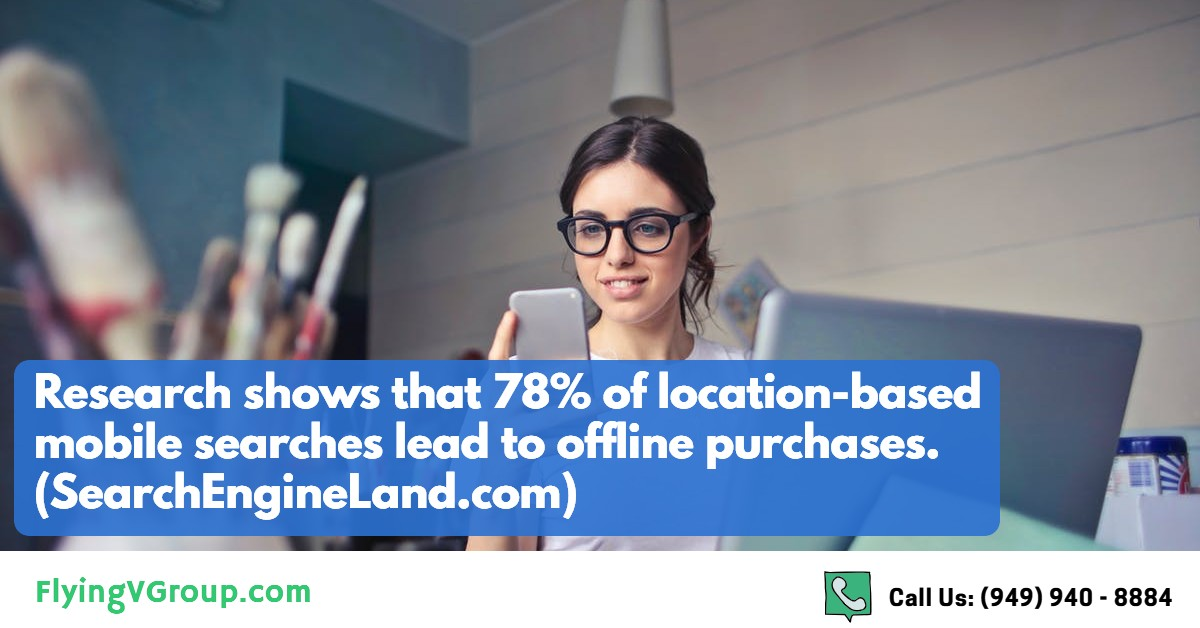 2 - mobile searches lead to offline purchases