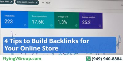 4 Tips to Build Backlinks for Your Online Store