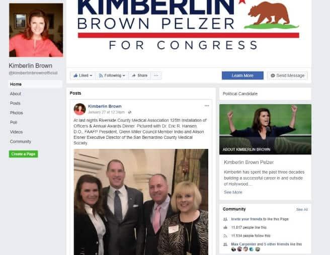 Kimberlin for Congress Social Media