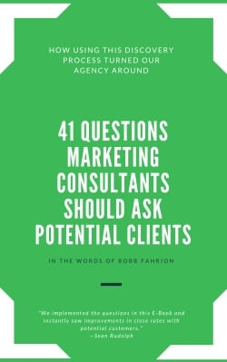 41 questions marketing consultants should ask potential clients e-book