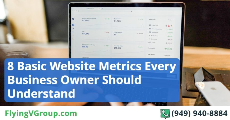8 Basic Website Metrics Every Business Owner Should Understand