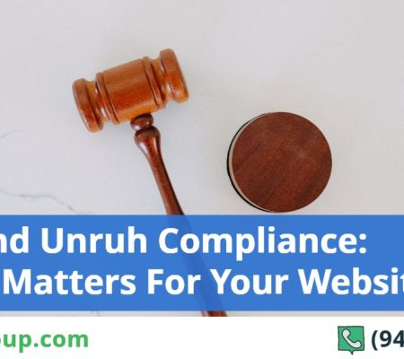 ADA and Unruh Compliance: Why It Matters For Your Website