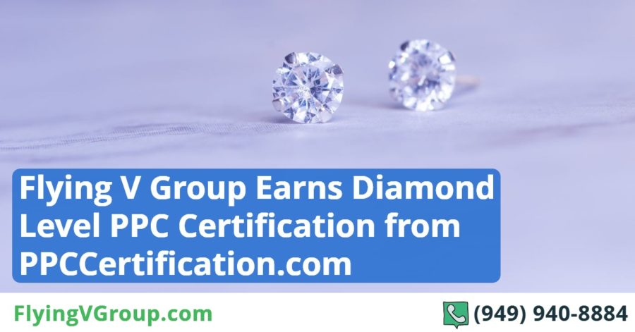 Flying V Group Earns Diamond Level PPC Certification from PPCCertification.com