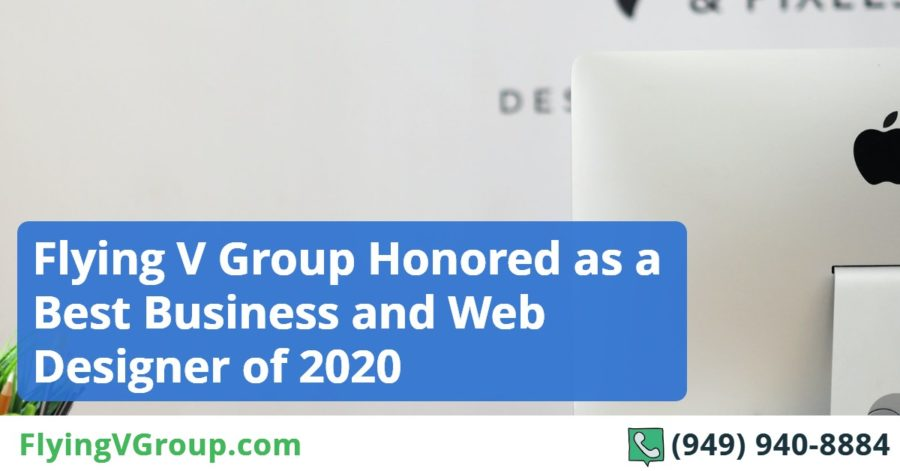 Flying V Group Honored as a Best Business and Web Designer of 2020