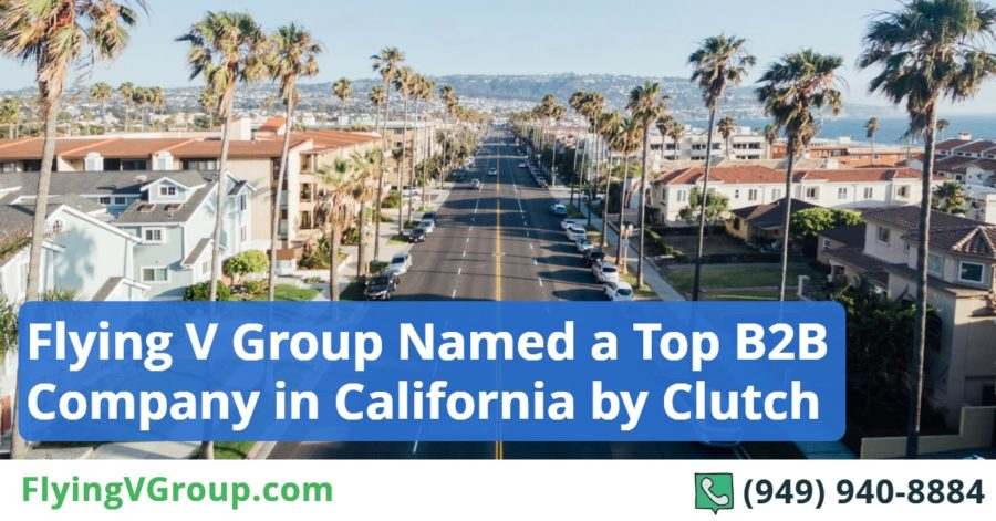Flying V Group Named a Top B2B Company in California by Clutch