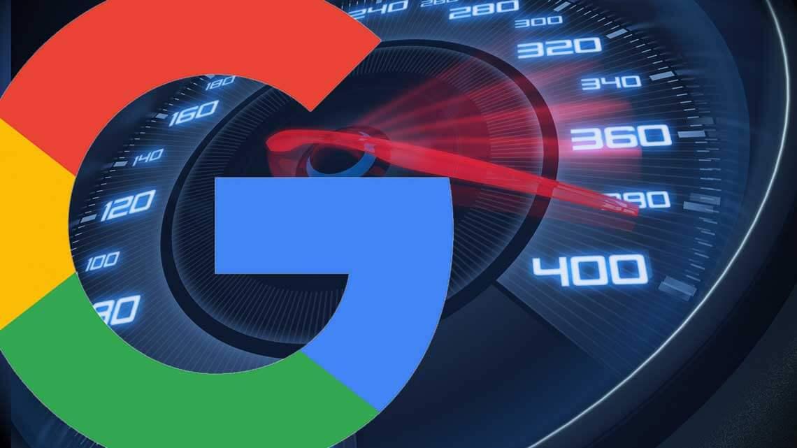 google mobile site speed-o-meter