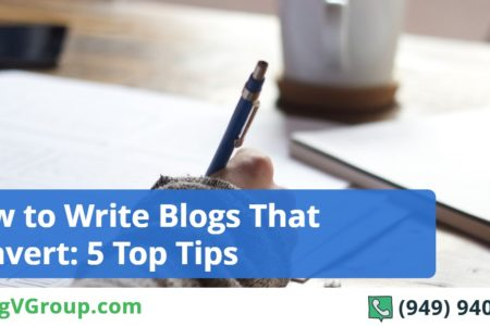 How to Write Blogs That Convert: 5 Top Tips