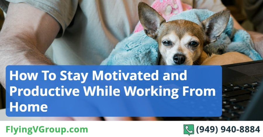 How To Stay Motivated and Productive While Working From Home