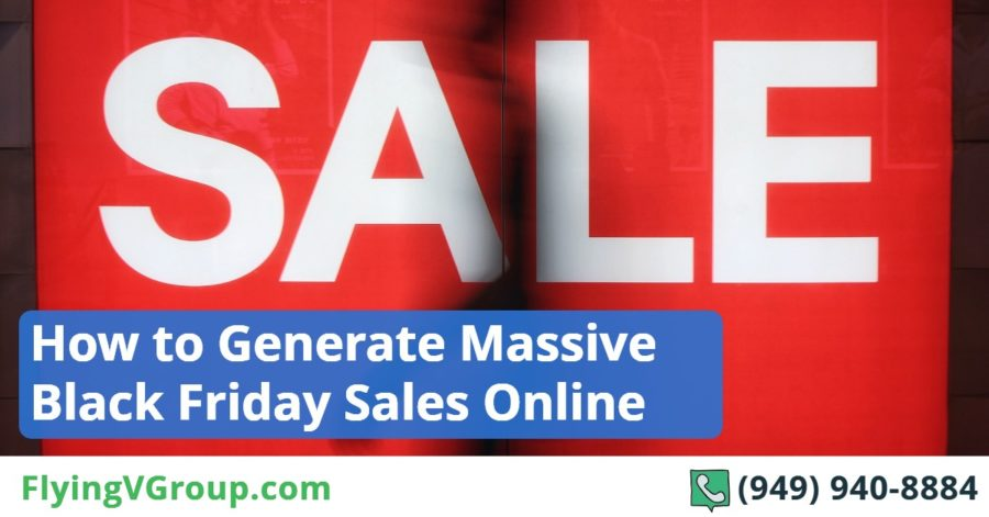 How to Generate Massive Black Friday Sales Online