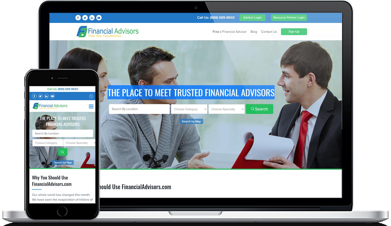 financialadvisors.com digital marketing services