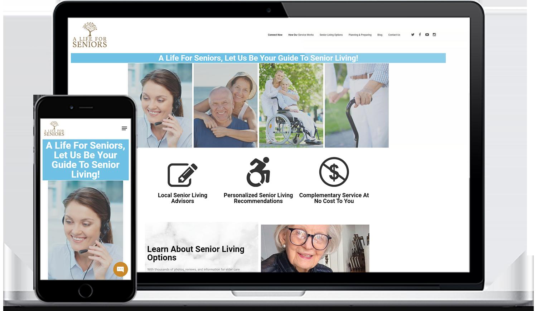 a life for seniors digital marketing