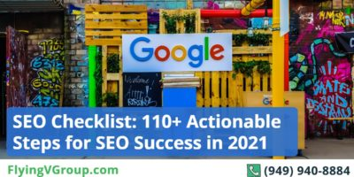 SEO Checklist: 110+ Actionable Steps for SEO Success [INFOGRAPHIC]