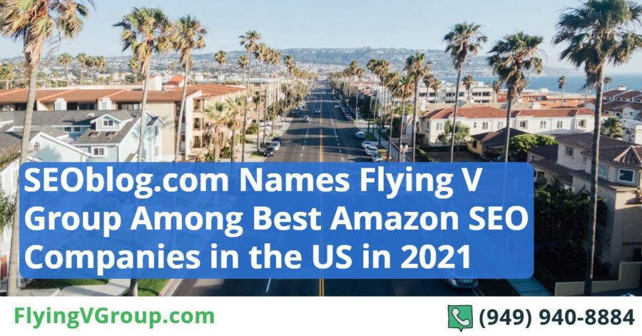 SEOblog.com Names Flying V Group Among Best Amazon SEO Companies in the US in 2021