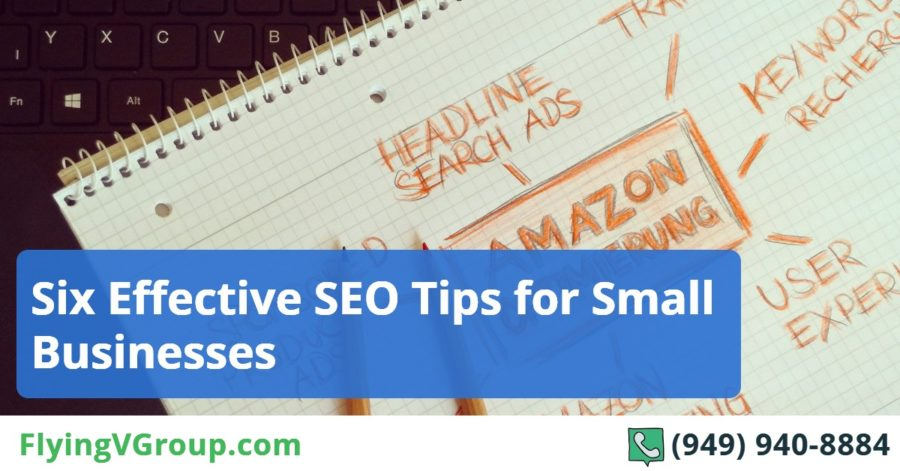 Six Effective SEO Tips for Small Businesses