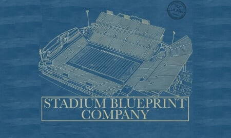 Stadium blueprint company draws up a plan with flying v group malvernweather Images
