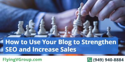 How to Use Your Blog to Strengthen SEO and Increase Sales