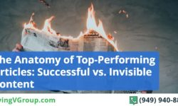 The Anatomy of Top-Performing Articles: Successful vs. Invisible Content