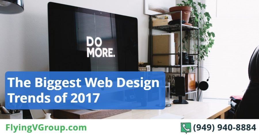 The Biggest Web Design Trends of 2017