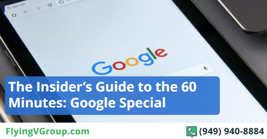 The Insider's Guide to the 60 Minutes_ Google Special