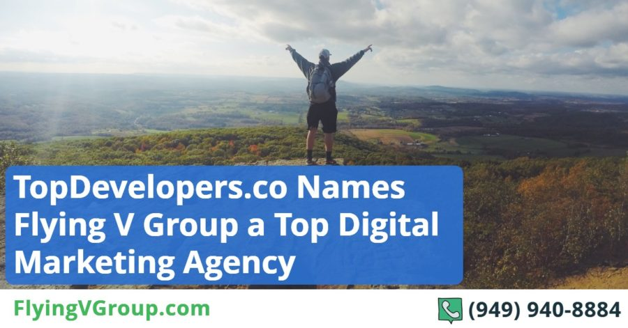 Top Developers Names Flying V Group a Top Digital Marketing Company