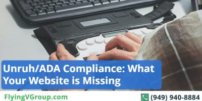 Unruh Compliance Checklist: Here's What Your Website is Missing