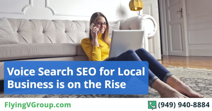 Voice Search SEO for Local Business is on the Rise