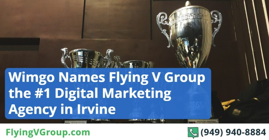 Wimgo Names Flying V Group the #1 Digital Marketing Agency in Irvine