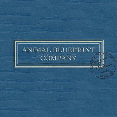 animal blueprint company logo