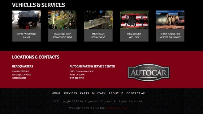 Alignment Express Website Development