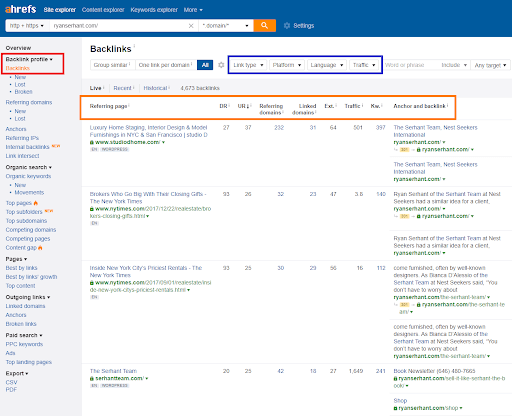 ahrefs backlinks review