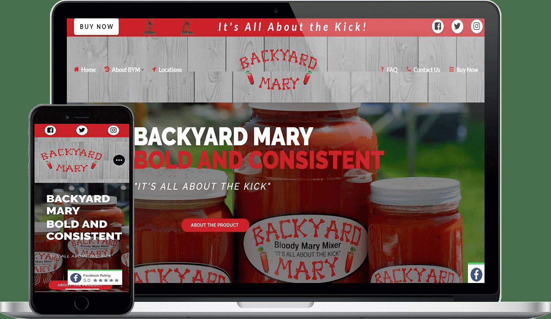 Backyard Mary Digital Marketing