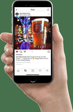 Barrio Brewing Co. Social Media