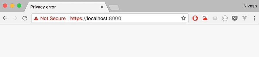 example of a non-https website url