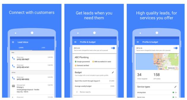 google local services screenshot