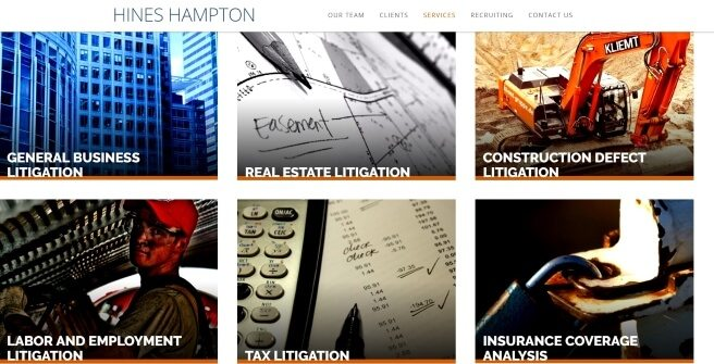 Hines Hampton LLP Digital Marketing