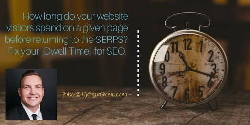 first your website dwell time