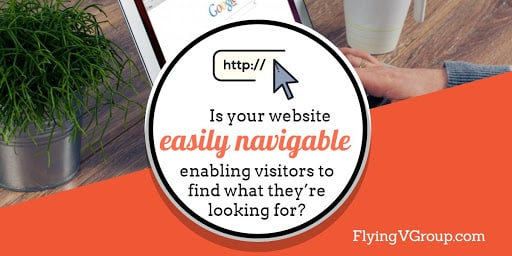 is your real estate website easily navigable