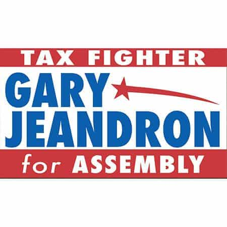 Gary Jeandron for Assembly Logo