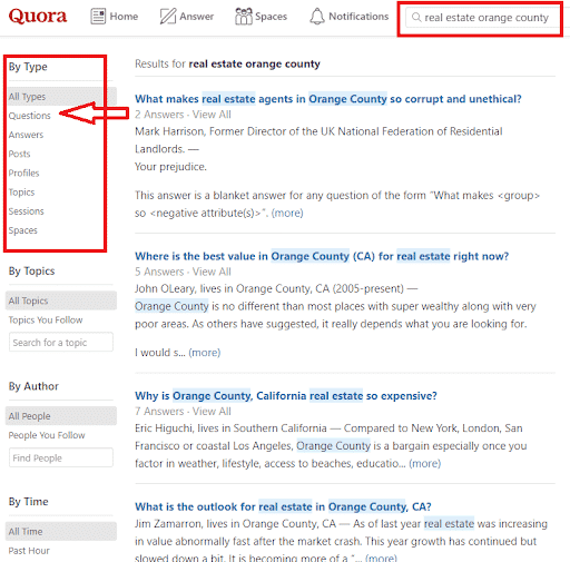 quora-keyword-research