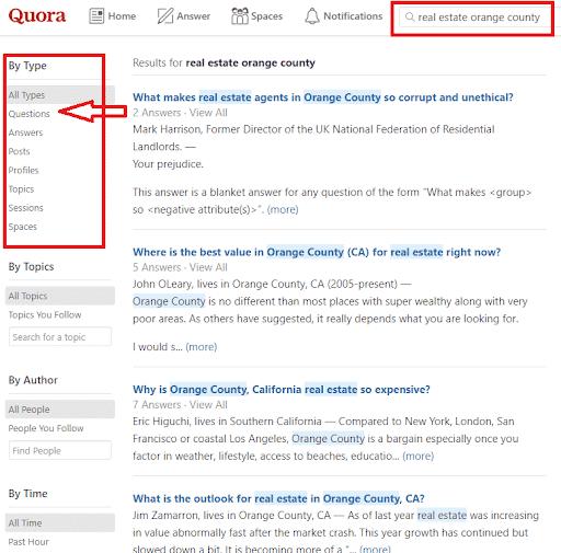quora-keyword-research