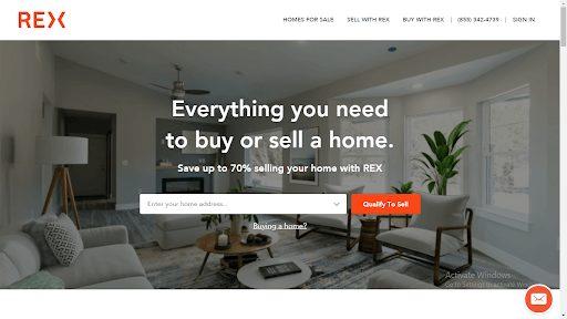 rexhomes dot com - real estate