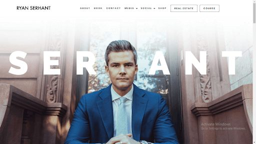 ryan serhant home page