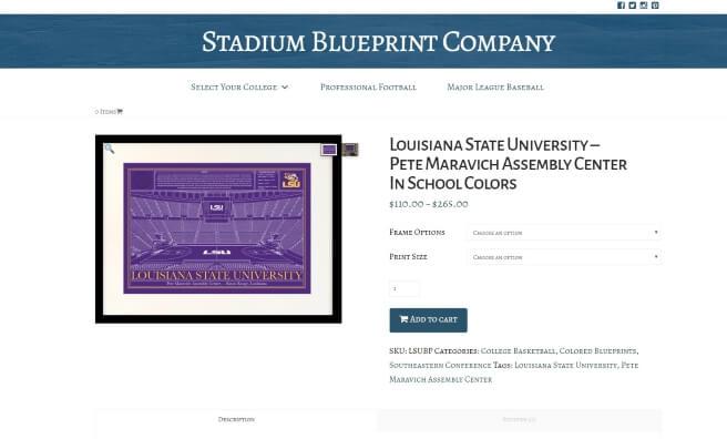 Stadium blueprint company web design and seo stadium blueprint company website malvernweather Gallery