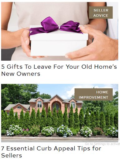 examples of great real estate headlines
