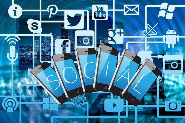social media phones